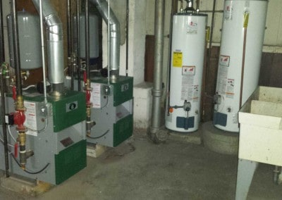 2 Peerless Boilers and 2 Water Heaters