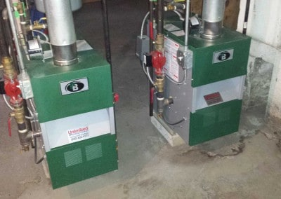 2 Peerless Boilers
