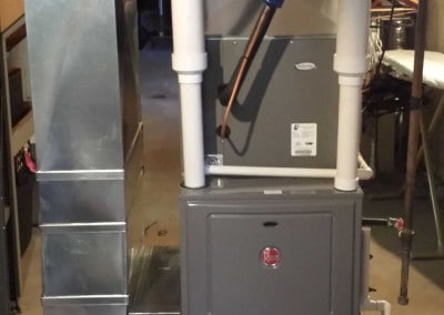 96% 2-Stage Furnace with Filter and Humidifier