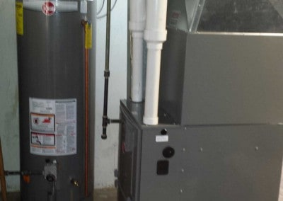 96% Furnace with Water Heater