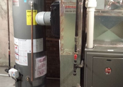 96% 2-Stage Furnace and Draft Induced Water Heater
